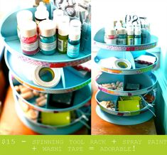 11 Ways to get your crafts organized | Organizing Made Fun: 11 Ways to get your crafts organized