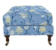 Ottoman by Maine Cottage | Nancy Ottoman #colorfulfurniture
