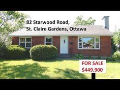 82 starwood road, St. Claire Gardens, ottawa, Ontario.