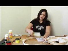 How to Silkscreen a T-Shirt : Using Hoops for Silkscreen T-Shirts