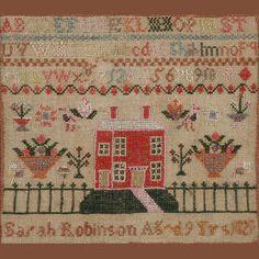 Bonhams 1793 : A George IV needlework sampler