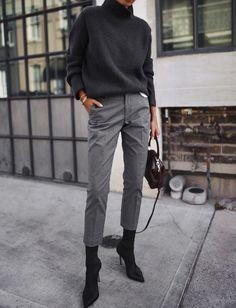 Minimalist outfit ideas - Wear to Work Outfits Office Fashion, Work Fashion, Trendy Fashion, Winter Fashion, Style Fashion, Fashion Outfits, Fashion Ideas, Cheap Fashion, Fashion Top