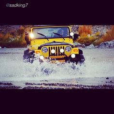 "Smooth sailing by @sadking7 ""#4x4 #jeep #jeeplife #jeepforum #jeeprubicon #wrangler #oman_cars #jeepbeef #photos_10 @motor_head_"" #Padgram"