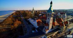 Zachód słońca w Sopocie