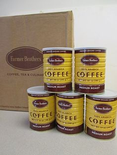 Farmer Brothers 100 Arabica Medium Roast Ground Coffee 14 Ounce 5Pack -- More info could be found at the image url. (This is an affiliate link and I receive a commission for the sales)