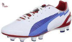 Puma Evos 3 Fg, Chaussures de football femme, Blanc (1), 39 - Chaussures puma (*Partner-Link)