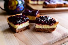Blackberry Cheesecake Squares by Ree Drummond / The Pioneer Woman, via Flickr