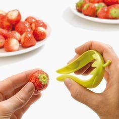 για εύκολο καθάρισμα όταν φτιάχνουμε τάρτες με φράουλες, #gadget #tart #pie