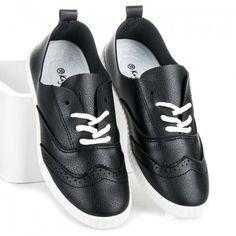 Dámské tenisky Kayla Talisa černé – černá Něžné tenisky vypadají na noze famózně. Pohodlné tenisky jsou zavazovací na tenkou šněrovačku. Jednobarevný svršek a jemný vzor spolu dokonale ladí. Perfektně budou vypadat kamkoliv půjdete. Se značkou …