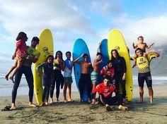Una# tarde llena de #Surfing y mucha #diversión con nuestros #alumnos y #instructores @albert_lasantasurf y @jaime_pombo @lasantaprocenter  Les esperamos de nuevo muy pronto  #surfcamp #surfcamplanzarote #surf #famara #lanzarote #islascanarias #surfcoach #surfers #surfteguise #surfcanarias #canarias #lasantasurf #lasantasurfschool #summertime #agosto #verano2016 #summer #waves #surflessons http://ift.tt/SaUF9M