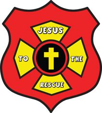 Jesus Rescues Me Fireman's Badge Bible Craft Kids can make  for Sunday School Lesson on www.daniellesplace.com