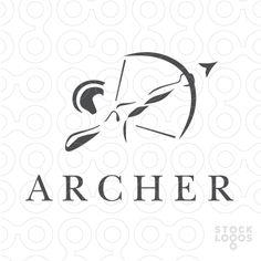 Logo: Archer - bowman