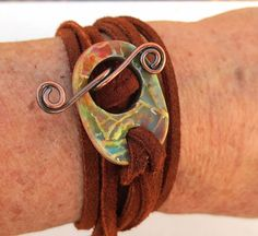 Art Bead Scene Blog: Tutorial Tuesday: Adirondack Heritage Wrist Wrap Bracelet