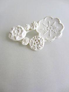 鈴木仁子 白磁のアクセサリー