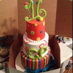 My sweet 16 cake!!!