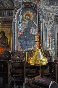 Orthodoxy in pictures Orthodox Prayers, Orthodox Christianity, Christian Church, Christian Faith, Fresco, God Prayer, Orthodox Icons, Spiritual Life, Jesus Christ