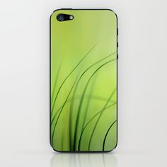 Sway  (Grass) iPhone & iPod Skin by Lena Weiss - $15.00
