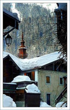 Argentière church - Chamonix-Mont-Blanc, Rhone Alpes