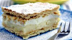 Kremówka wadowicka | Smaczne-Przepisy.TV Custard Slice, Polish Recipes, Polish Food, Pumpkin Cheesecake, Dessert Recipes, Desserts, Tiramisu, Sweet Tooth, Almond