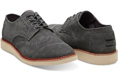 Amazon.com | Toms Men's Brogue Laceup Oxford Shoes | Fashion Sneakers