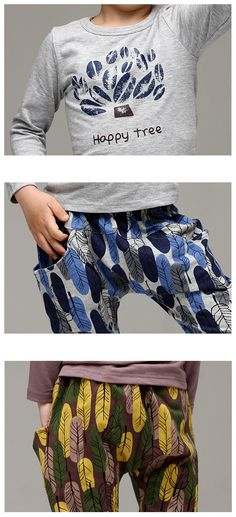 Happy Tree Active Set for boys and girls 2-6. Cool kids fashion, play ready style.