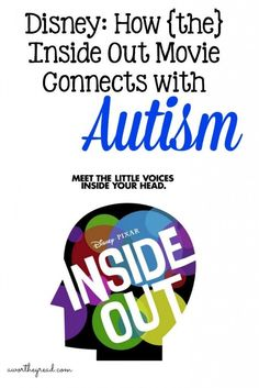 A new Disney movie will be coming out soon! Inside Out talks about a girl named Riley and her emotions that we get to literally hear. How does that connect with Autism? Read Disney How Inside Out Movie Connects With Autism for the details! Click through to read more..   A Worthey Read