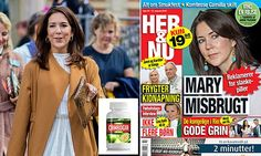 Princess Mary's photos stolen and used to sell diet pills online