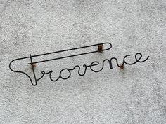 Provence / #typography #signage