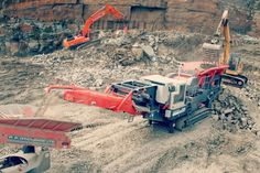 Machinery & Equipment Part Online : Different Types of Mobile Crushers Stone Quarry, Different Types, Equipment For Sale, Model Trains, Recycling, Trains, Upcycle