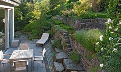 Gartengestaltung Hanglage Modern #1