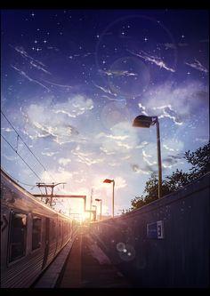 電車 beautiful