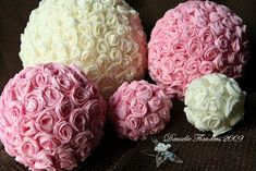 DIY project: Tissue pomander balls