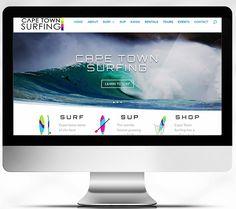 Cape Town Surfing Website Design 2018 Designed for by # Web Portfolio, Portfolio Layout, Sup Shop, Learn Wordpress, Kayak Rentals, Professional Website, Corporate Business, Presentation Design, Cape Town