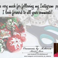 #OrnamentsByRebecca #connecting