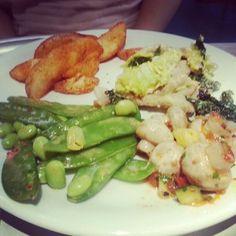 Lekker gelunched bij Tibits! ? @maaikevanh89 #London #Heddonstreet #Lunch #Food