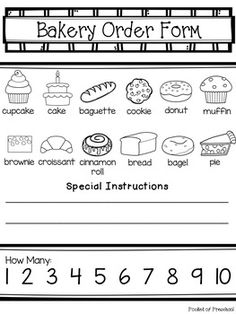 Bakery Dramatic Play | Dramatic play centers, Dramatic ...