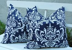 Blue Throw Pillow Covers