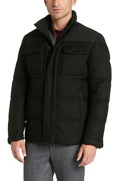 Down jacket: 'Dernym'