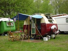 ... little late in jumping on the band wagon of a fad vintage caravans