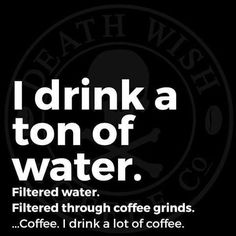 But, coffee is 98% water...    Check it out: http://wiredforcoffee.com/best-water-for-coffee/