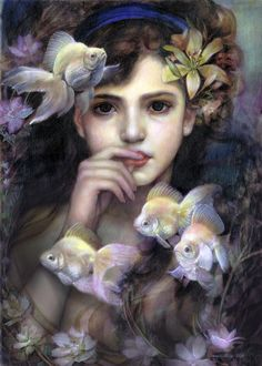Pearl Ryukin by Annie Stegg
