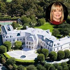 The United States Of America / California / Los Angeles / Bel Air / Holmby Hills / 594 South Mapleton Drive / The Manor / Petra Ecclestone Celebrity Homes For Sale, Celebrity Houses, Celebrity Mansions, Expensive Houses, Most Expensive, David E Victoria Beckham, David Beckham, Bel Air, Billionaire Homes