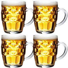 4 chopes à bière