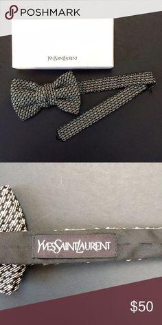 Yves Saint Laurent bow tie Brand new, never worn / pre-tied / adjustable / in original box Yves Saint Laurent Accessories Ties
