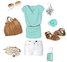 Fresh for the summer, created by imss89 on Polyvore