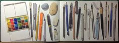 Everything you need to know about watercolor brushes from Jane Blundell