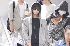 L Myungsoo : Infinite 130904 Fukuoka Airport