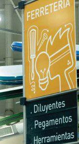 Supermarket Sign Design Paola Camano Diseño