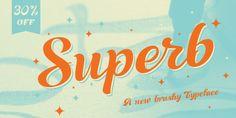 Font dňa – Superb   https://detepe.sk/font-dna-superb?utm_content=buffer2ca74&utm_medium=social&utm_source=pinterest.com&utm_campaign=buffer