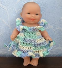 An outfit for Melissa...free pattern
